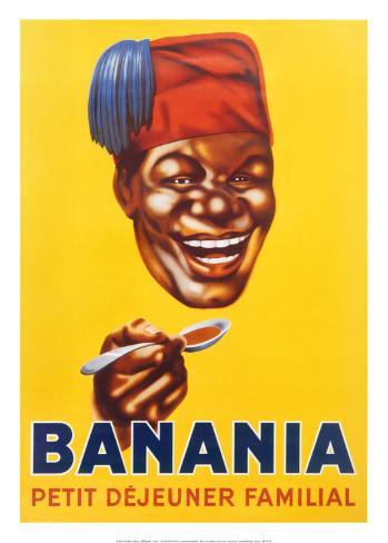 Banania Petit Dejeuner Familial Art Print