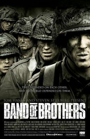 Band of Brothers Framed Art Print