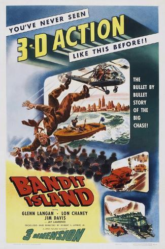 Bandit Island Art Print