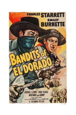 Bandits of El Dorado Giclee Print