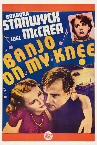 Banjo on My Knee, Katherine Demille, Barbara Stanwyck, Joel Mccrea, 1936 Art Print