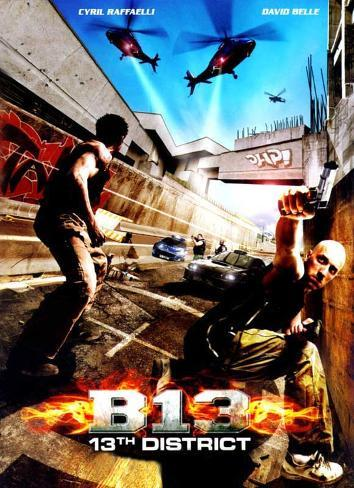 Banlieue 13 Movie Poster Poster