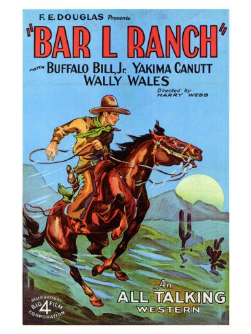 Bar L Ranch, 1930 Art Print