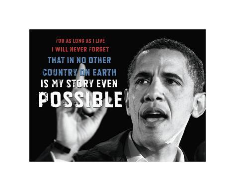 Barack Obama: My Story Giclee Print