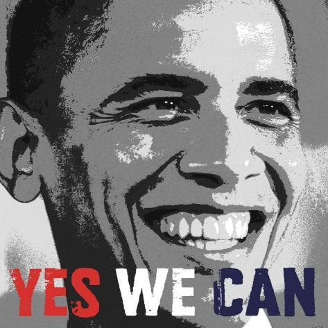 Barack Obama Yes We Can Poster Allposters Com