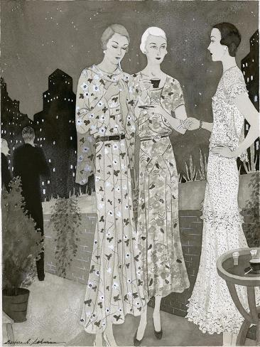Vogue - June 1930 Stampa giclée premium