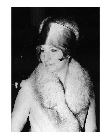 Barbara in Hat Art Print