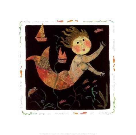 The Mermaid Slips Through Your Fingers Art Print