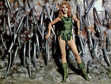 Barbarella, Jane Fonda, 1968 Fotografía