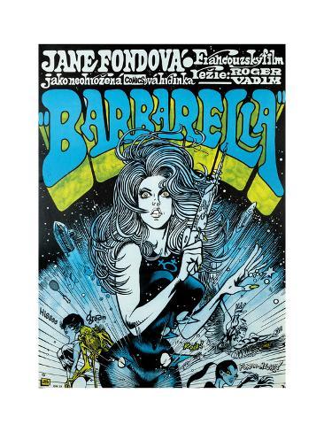 Barbarella - Movie Poster Reproduction Art Print