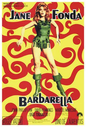 Barbarella - Spanish Style Poster
