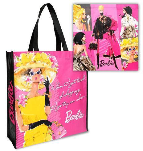 Barbie Large Recycled Shopper Tote Tote Bag