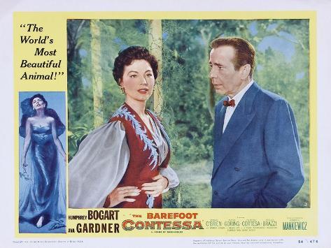 Barefoot Contessa, 1954 Premium Giclee Print