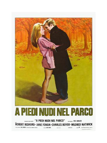 Barefoot in the Park, Italian Movie Poster, 1967 Premium Giclee Print