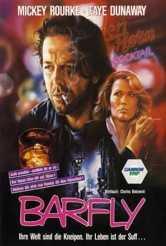 Barfly - German Style Poster