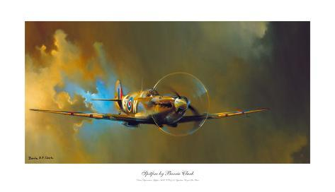 Spitfire Posters By Barrie A F Clark Allposters Ca