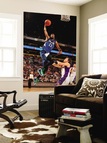Minnesota Timberwolves v Phoenix Suns: Corey Brewer and Goran Dragic Wall Mural