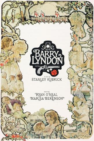 Barry Lyndon, 1975 Giclee Print