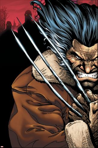 Weapon X: Days Of Future Now No.1 Cover: Wolverine Poster