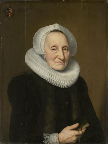 Portrait of Belia Claesdr Art Print