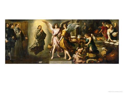 The Angels' Kitchen, 1646 Lámina giclée