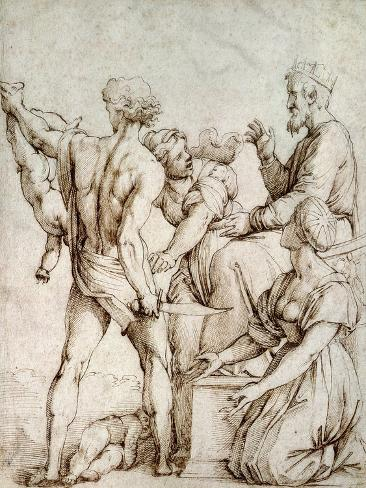 The Judgement of Solomon Giclee Print