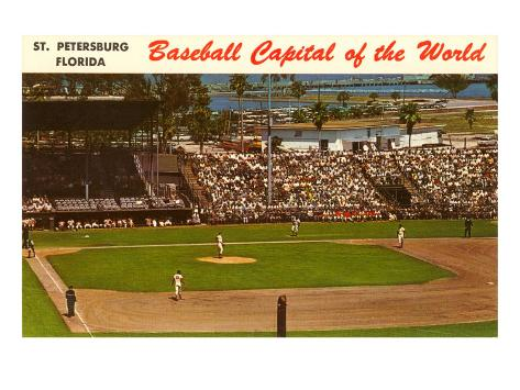 Baseball Capital of the World, St. Petersburg, Florida Art Print