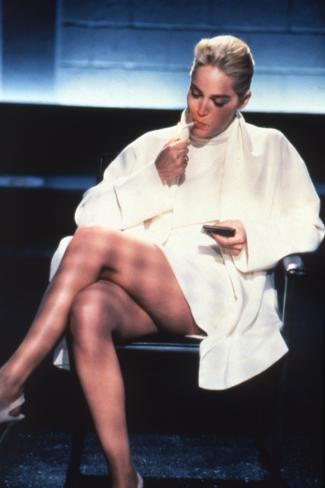 Basic Instinct, Sharon Stone, Directed by Paul Verhoeven, 1992 Photo