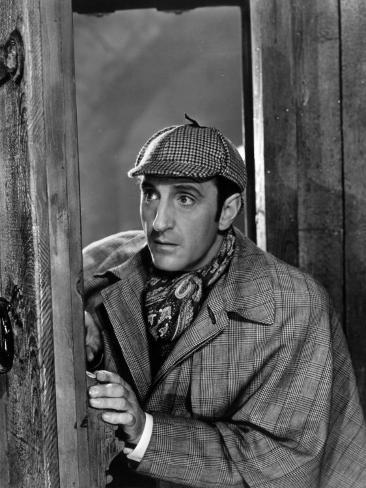 Basil Rathbone: The Adventures of Sherlock Holmes, 1939 Stampa fotografica