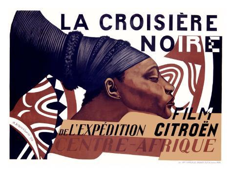 La Croisiere Noire Giclee Print