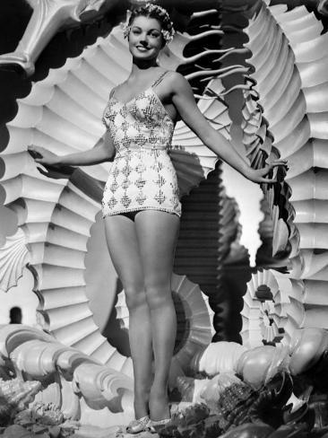 Bathing Beauty, Esther Williams, 1944 Photo