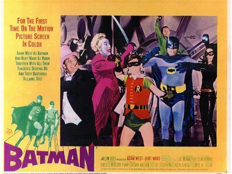 Batman , 1966 Art Print