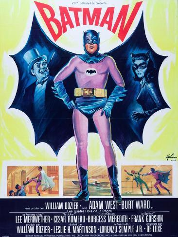 Batman (aka Batman: The Movie) Art Print
