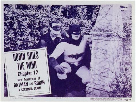 Batman and Robin, 1949 Art Print