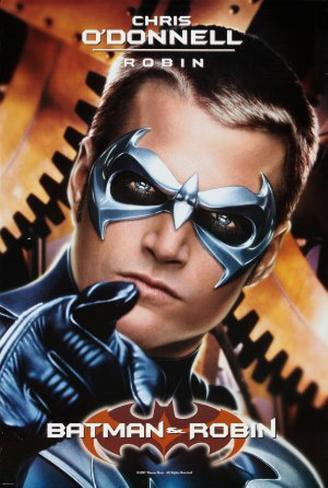 Batman and Robin - Chris O'Donnell Original Poster