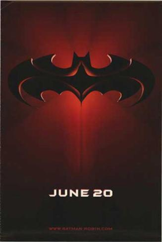 Batman And Robin (George Clooney, Arnold Schwarzenegger, Uma Thurma) Movie Poster Double-sided poster