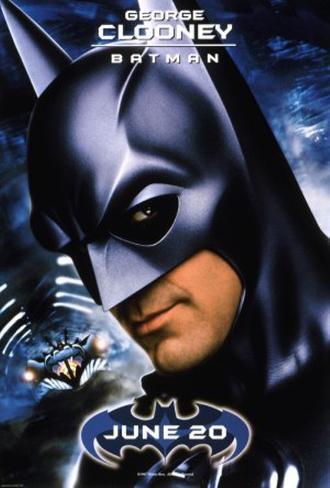 Batman and Robin - George Clooney Original Poster