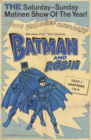 Batman and Robin Masterprint