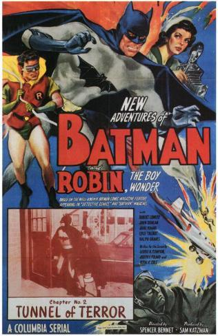 Batman and Robin マスタープリント