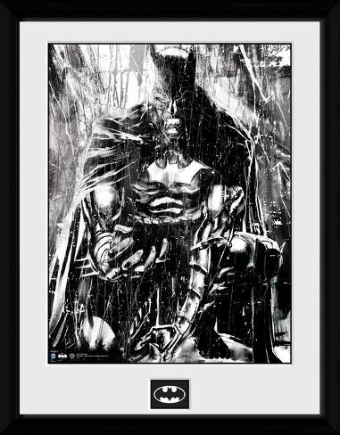 Batman- Anguish In The Rain Collector Print