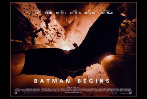 Batman Begins, 2005 Póster