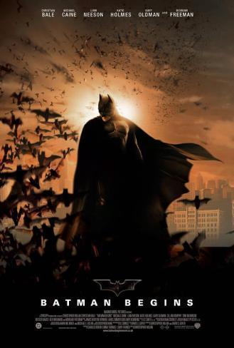 Batman Begins - UK Style Poster