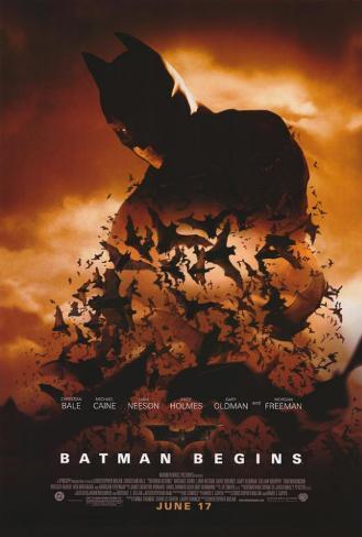 Batman Begins Impressão original