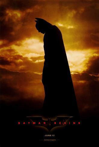 Batman Begins Stampa su tela