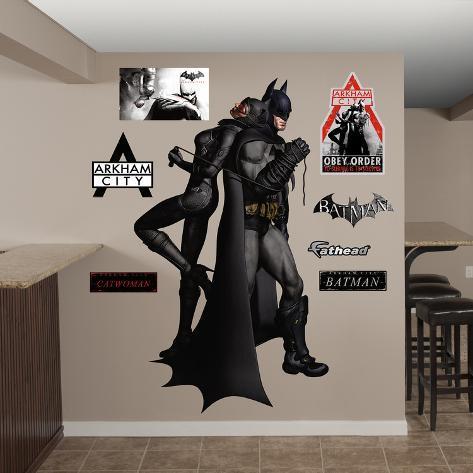 Batman Catwoman Duo Arkham City Wall Decal Sticker Wall Decal Part 70