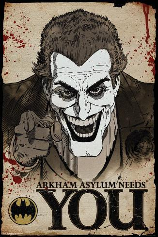 Batman comic joker needs you posters allposters batman comic joker needs you voltagebd Image collections