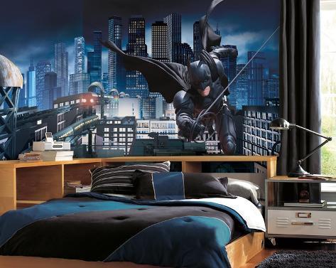 Batman Dark Knight Rises Prepasted Mural Wall Mural AllPosterscouk