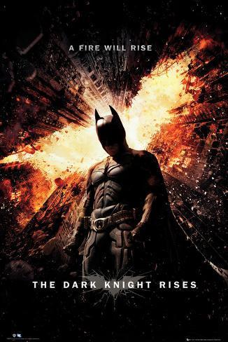 Batman, El caballero oscuro: la leyenda renace Póster