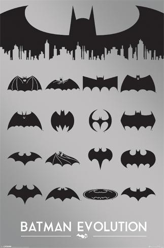 Batman - Evolution Poster