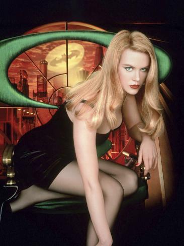 Batman Forever  De Joelschumacher Avec Nicole Kidman 1995 Fotografía